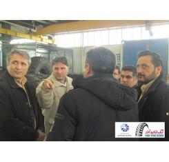 بازدید ریاست پارک علم و فناوری استان آذربایجان شرقی از مجتمع صنعتی تک تایر آذر