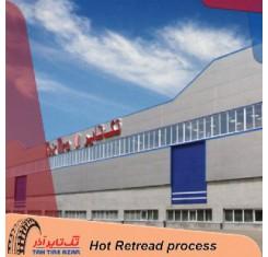 مراحل تولید لاستیک روکش گرم